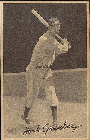 1939 Hank Greenberg Goudey Premium