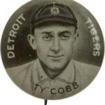 Ty Cobb Sweet Caporal pin