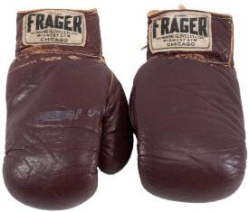 Boxing gloves Ali Liston