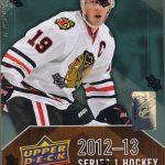 Upper Deck Series One 2012-13 hockey