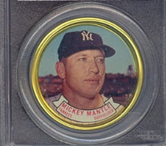 Mickey Mantle 1964 Topps coin