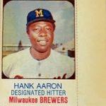 Hank Aaron 1975 Hostess Twinkies