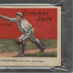 Christy Mathewson PSA 5 1914 Cracker Jack
