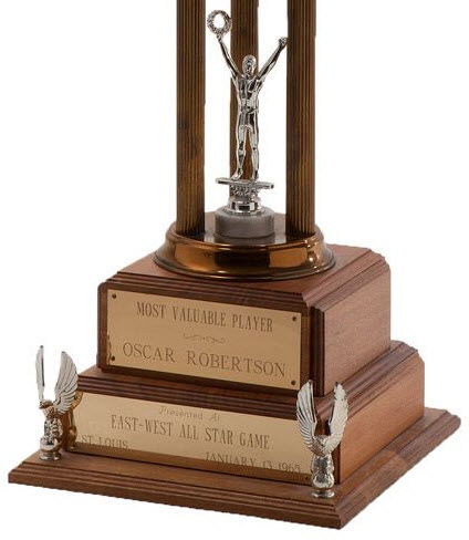 1964 NBA MVP trophy Oscar Robertson