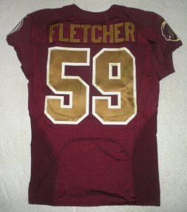 Redskins London Fletcher throwback jersey