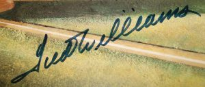 Operation Bullpen forged Ted Williams signature