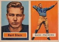 Bart Starr rookie card