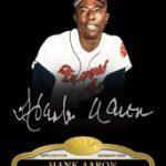 2013 Topps Tier One Hank Aaron autograph
