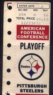 Immaculate Reception ticket