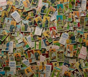 Obak baseball cards