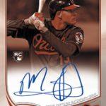 Manny Machado 2013 Topps Chrome autograph