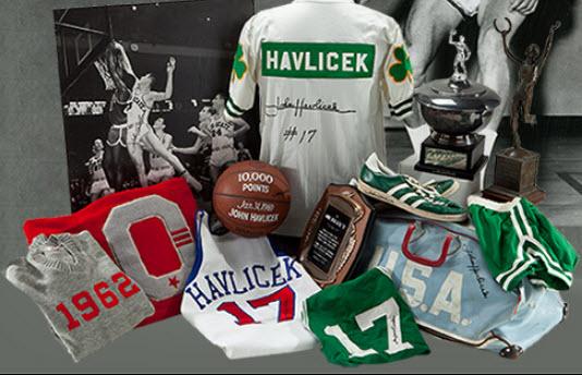 John Havlicek collection