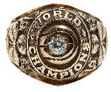 John Havlicek Celtics Championship ring