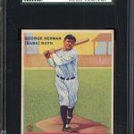Babe Ruth 1933 Goudey card