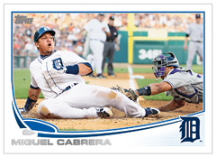2013 Topps Miguel Cabrera