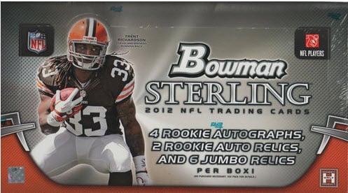 Unopened 2012 Bowman Sterling football box
