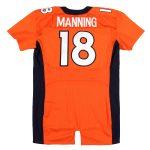 Game worn Peyton Manning Broncos jersey