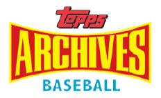 Topps Archives baseball logo