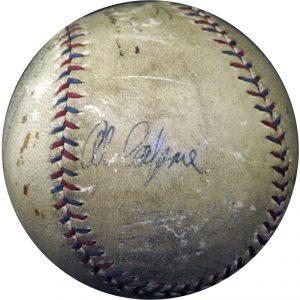 Autographed Al Capone ball