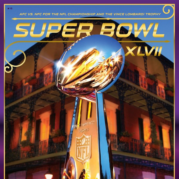 Super Bowl XLVII program