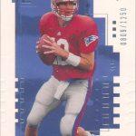 Tom Brady SP Authentic Rookie Card