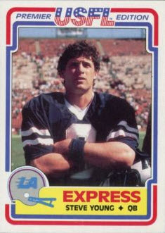 Steve Young 1984 Topps USFL