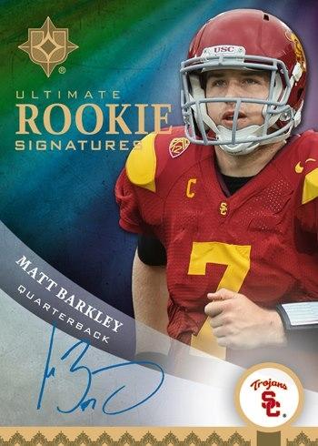 Matt Barkley autograph 2013 Upper Deck