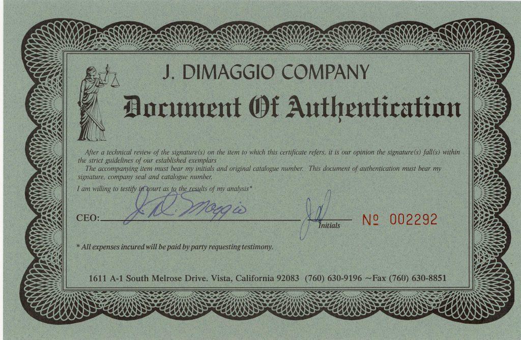 J DiMag cert forgery 2