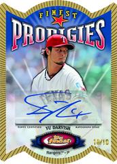 Yu Darvish Topps Finest Prodigies