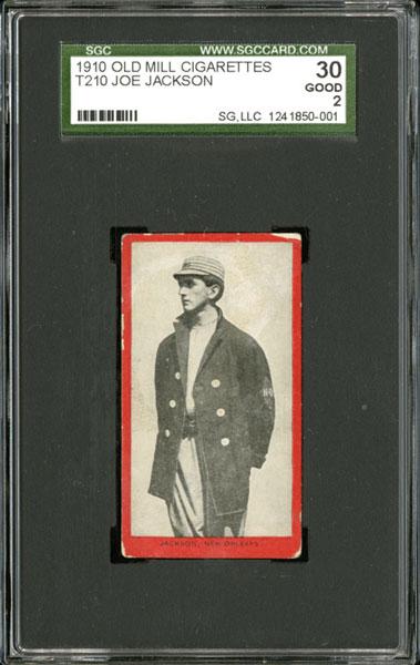 1910 Old Mill Joe Jackson