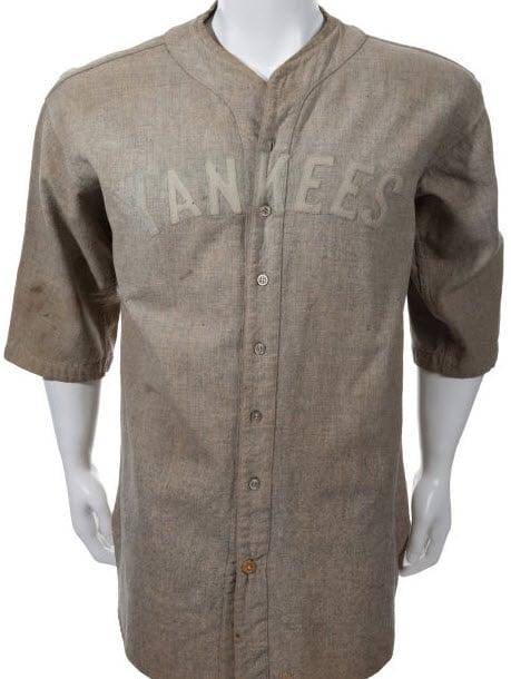 Lou Gehrig jersey 1927-28