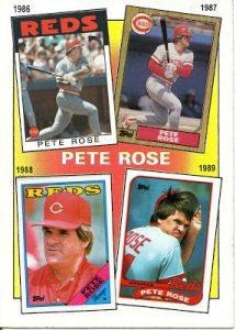 Topps Pete Rose
