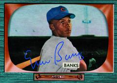 Bowman Chrome Ernie Banks Sapphire