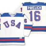 1980 US Olympic hockey jersey Pavelich