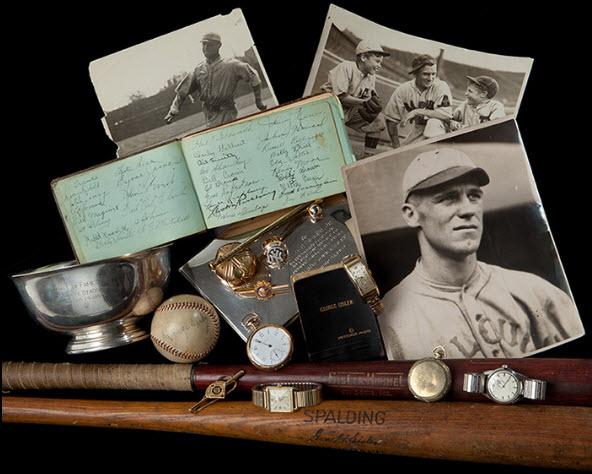 George Sisler memorabilia