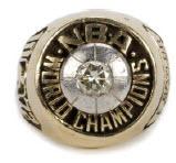 Elgin Baylor 1972 Lakers NBA Championship ring