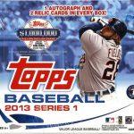 Jumbo Box 2013 Topps