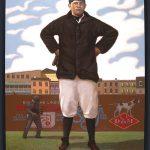 Babe Ruth painting Jim Burke