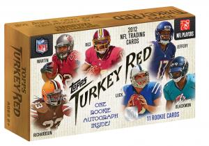 Turkey Red Topps Football box 2012