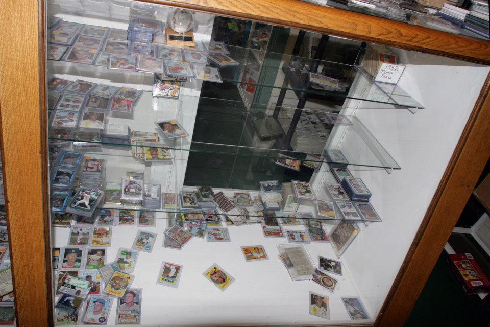 display case ransacked