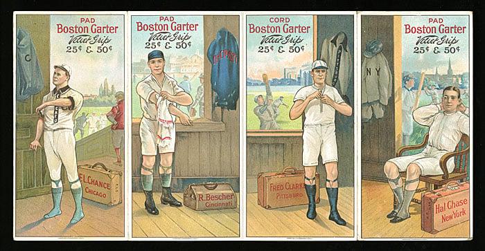 Uncut strip Boston Garter 1912