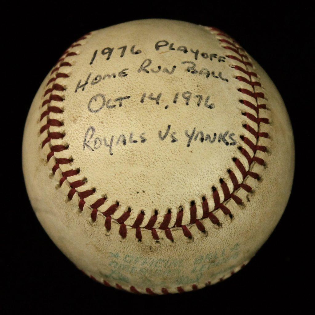 1976 ALCS Chris Chambliss home run ball