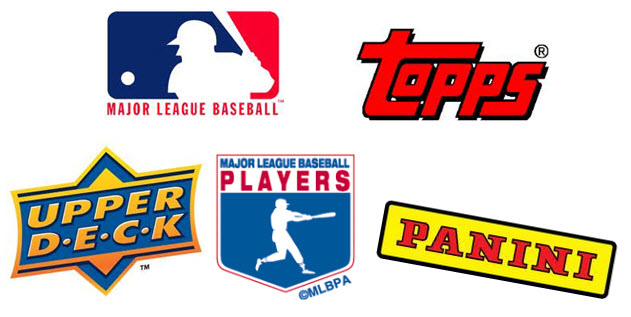 MLB MLBPA licensees logos