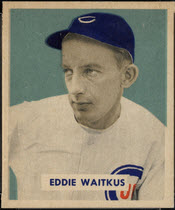 1949 Bowman Eddie Waitkus