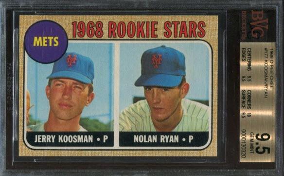 Nolan Ryan rookie card OPC