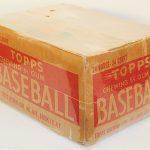 Empty 1952 Topps baseball card case
