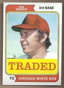 1974 Topps Traded Ron Santo