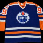 Oilers Wayne Gretzky jersey 1980