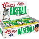 Topps Heritage 2013 baseball box