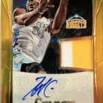 Select Prizm patch Kenneth Faried auto